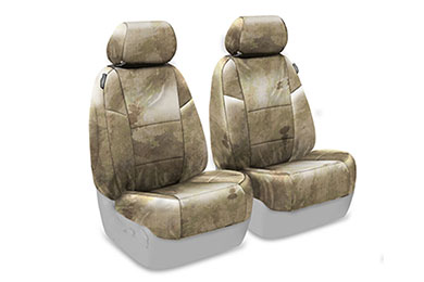 Jeep Cherokee SKANDA A-TACS Camo Canvas Seat Covers by Coverking