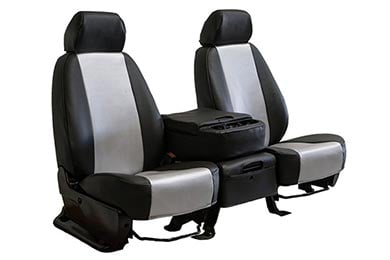 Jeep Liberty CalTrend Carbon Fiber Seat Covers