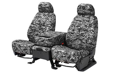 GMC Sierra CalTrend Digital Camo Canvas Seat Covers