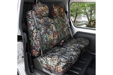 Chevy Silverado CalTrend Camo Canvas Seat Covers