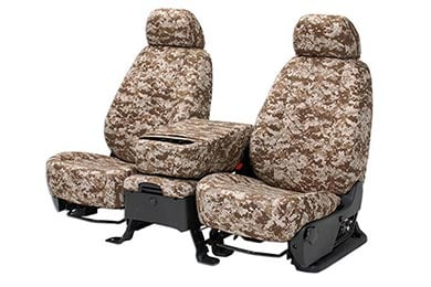Jeep Wrangler CalTrend Digital Camo Canvas Seat Covers