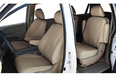 "GMC Sierra CalTrend ""I Can't Believe It's Not Leather"" Seat Covers"