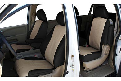 "Toyota Highlander CalTrend ""I Can't Believe It's Not Leather"" Seat Covers"