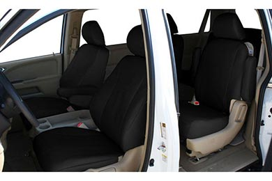 "Hyundai Accent CalTrend ""I Can't Believe It's Not Leather"" Seat Covers"