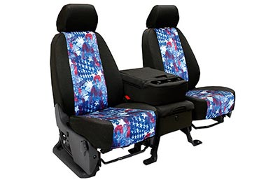 Ford Excursion CalTrend American Flag NeoSupreme Seat Covers