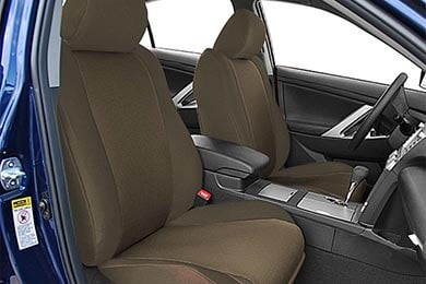 Toyota Sequoia CalTrend SportsTex Poly-Cotton Seat Covers