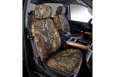Chevy Silverado Carhartt RealTree Camo Canvas Seat Covers