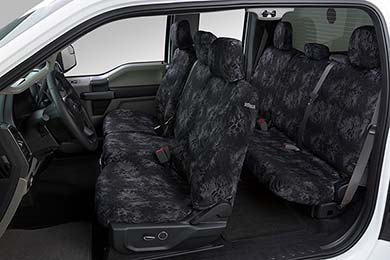 Honda Pilot Covercraft SeatSaver Prym1 Camo Canvas Seat Covers