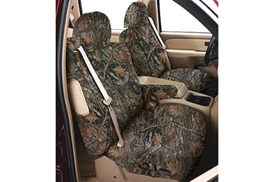 Jeep Wrangler Covercraft SeatSaver True Timber Camo Canvas Seat Covers