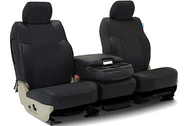 Volkswagen GTI Coverking Alcantara Leatherette Seat Covers