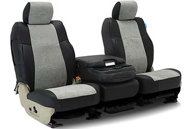 Coverking Alcantara Leatherette Seat Covers