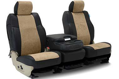 Coverking Alcantara Leatherette Seat Covers