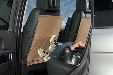 Dodge Charger Coverking Backseat Canvas Kick Mat