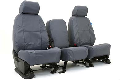 Coverking Ballistic Canvas Seat Covers in Charcoal