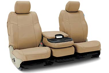 Honda Pilot Coverking Genuine Leather Seat Covers