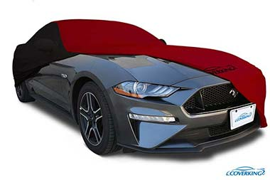 Fleeced Satin Black Covercraft Custom Fit Car Cover for Select Ford B Models FS11882F5