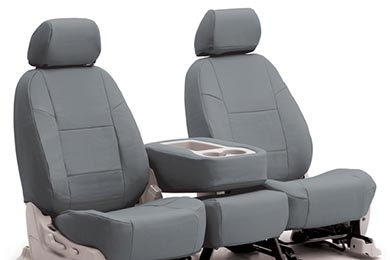 Dodge Grand Caravan Coverking Genuine Leather Seat Covers