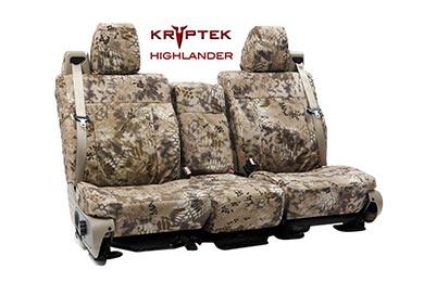 Dodge Dakota SKANDA Kryptek Camo Ballistic Canvas Seat Covers