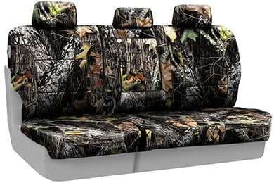 Ford F-150 SKANDA Mossy Oak Camo Neoprene Seat Covers