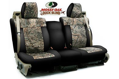 Nissan Titan SKANDA Mossy Oak Camo Neosupreme Seat Covers by Coverking