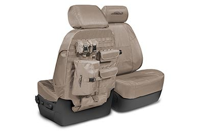 Coverking Tactical Ballistic Canvas Seat Covers