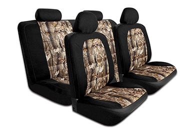 Chevy Silverado ProZ Camo Canvas Seat Cover Kit
