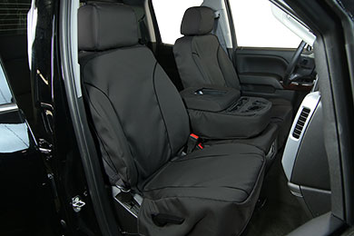Chevy Avalanche Saddleman Cambridge Tweed Seat Covers