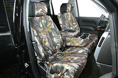 GMC Savana Saddleman Camo Neoprene Seat Covers