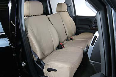 Chevy Malibu Saddleman Canvas Seat Covers