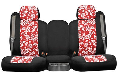 seat designs hawaiian red 2tone