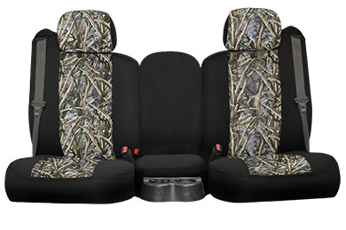 Nissan Titan Seat Designs SuperFlauge Camo Neosupreme Seat Covers