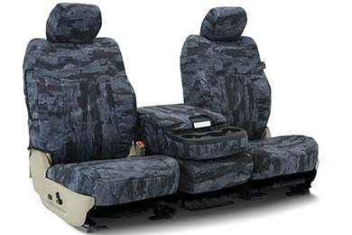 GMC Savana SKANDA A-TACS Camo Canvas Seat Covers by Coverking