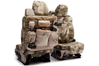 Dodge Charger SKANDA A-TACS Tactical Camo Canvas Seat Covers by Coverking
