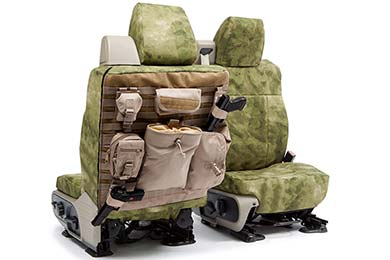 SKANDA A-TACS Tactical Camo Canvas Seat Covers by Coverking