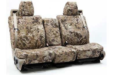 SKANDA Kryptek Camo Ballistic Canvas Seat Covers by Coverking