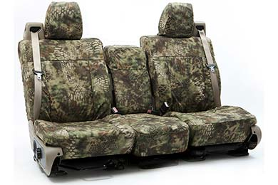 GMC Savana SKANDA Kryptek Camo Ballistic Canvas Seat Covers by Coverking