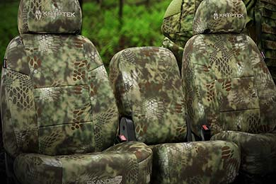 Honda Pilot SKANDA Kryptek Camo Neosupreme Seat Covers by Coverking