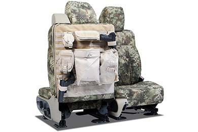 GMC Savana SKANDA Kryptek Tactical Camo Ballistic Canvas Seat Covers by Coverking