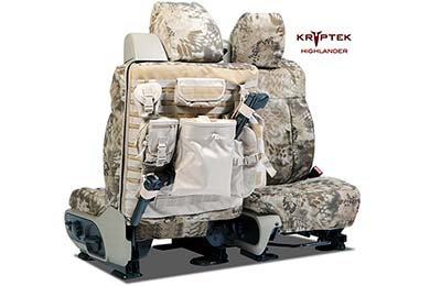 SKANDA Kryptek Tactical Camo Ballistic Canvas Seat Covers by Coverking