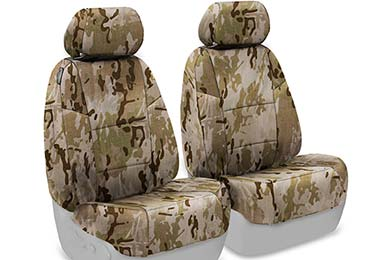 Honda Pilot SKANDA Multi-Cam Camo Ballistic Seat Covers by Coverking