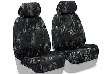 Dodge Dakota SKANDA Multi-Cam Camo Ballistic Seat Covers by Coverking