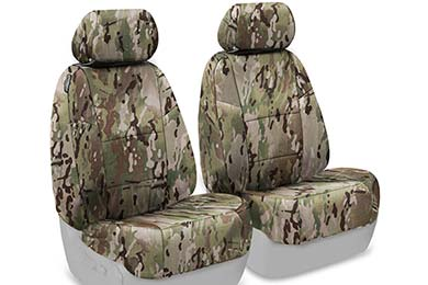 Dodge Charger SKANDA Multi-Cam Camo Ballistic Seat Covers by Coverking