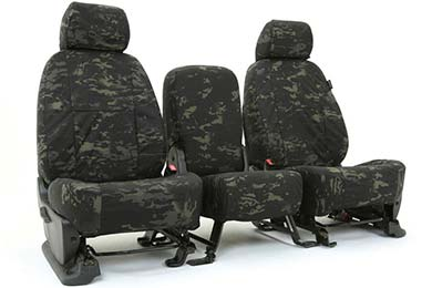 Ford Expedition SKANDA Multi-Cam Camo Ballistic Seat Covers by Coverking