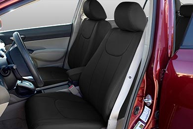 Nissan Rogue LeatherCraft SeatSkinz Seat Covers by SteelCraft