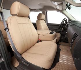 Chevy Silverado CalTrend NeoSupreme Seat Covers