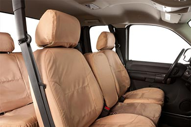 Chevy Silverado Coverking Ballistic Canvas Seat Covers