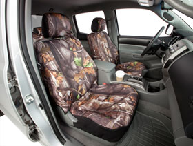 Dodge Ram Saddleman Surefit Camo Canvas Seat Covers