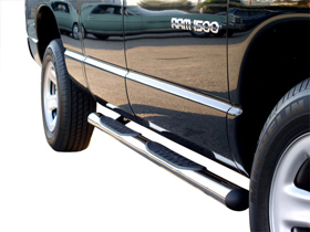 "Dodge Ram Aries 4"" Oval Nerf Bars"