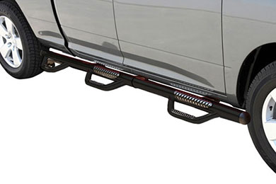 Dodge Ram Go Rhino Dominator D3 Round Step Nerf Bars