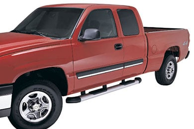 Dodge Ram Lund StepRails Elliptical Aluminum Side Steps